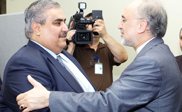 صالحی و وزیر خارجه بحرین